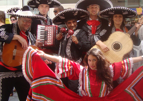 themafeest caribbean mariachi band
